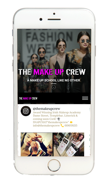 Make-Up-Crew-Website-Design