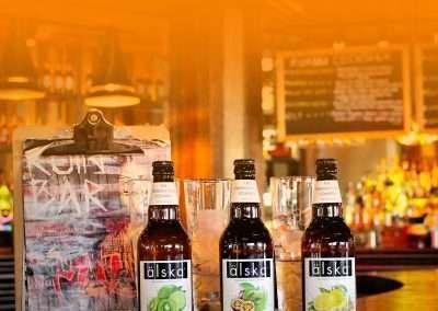 online social media marketing for drinks brand